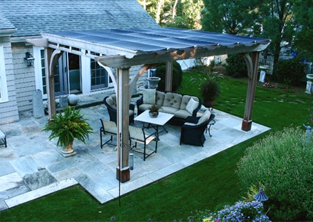 Wanna Build One Over My Back Patio (not Quite This Elaborate, But The Idea