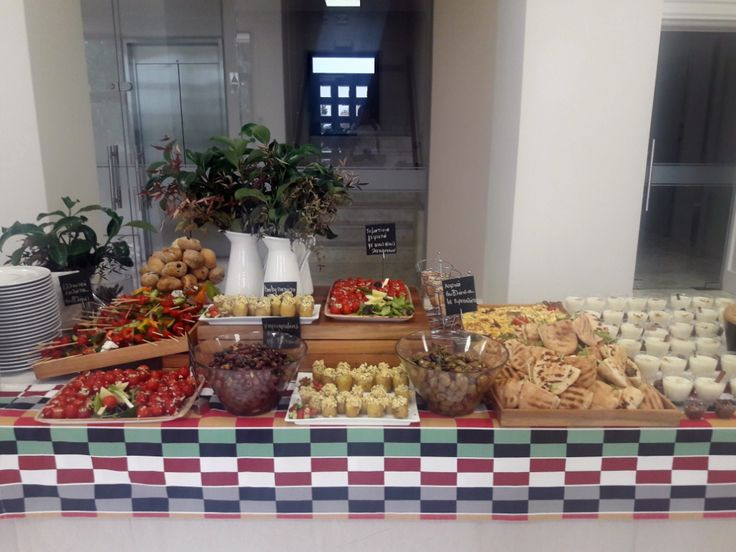 Light lunch buffet by F Zone Catering & Events