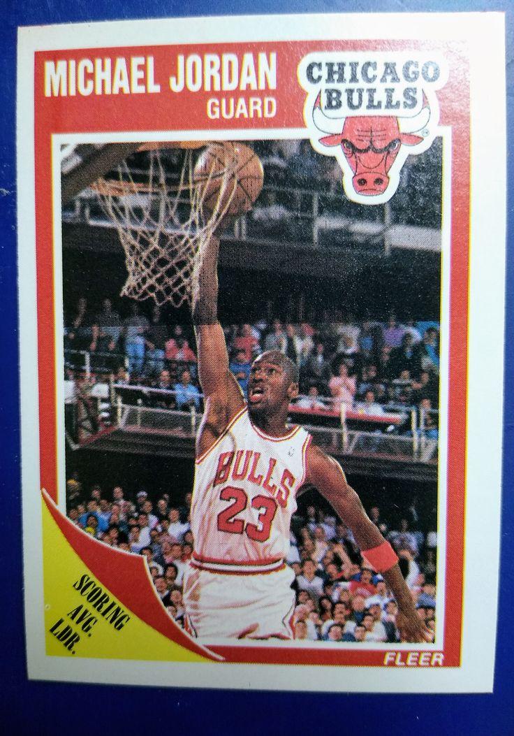 198990 fleer basketball michael jordan chicago bulls hall