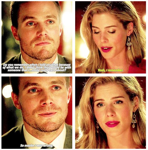 "Arrow - Oliver and Felicity #3.1 #Season3 #Olicity ♥ ""So maybe I was wrong"" <3"