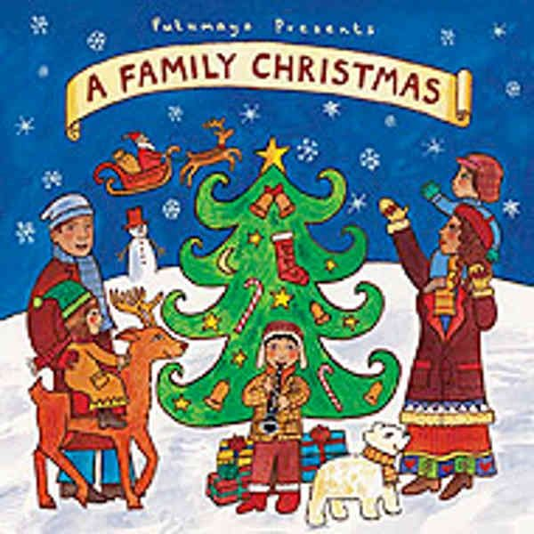 Putumayo Kids - Α Family Christmas CD με Χριστουγεννιάτικα Τραγούδια - Sunnyside