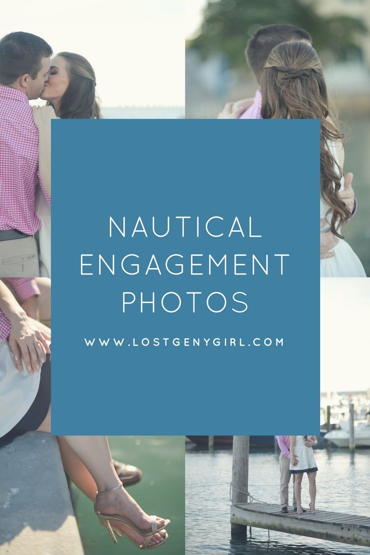 Nautical engagement photos shot in Miami Florida. If you're looking for romantic engagement photos, this is the way to go.