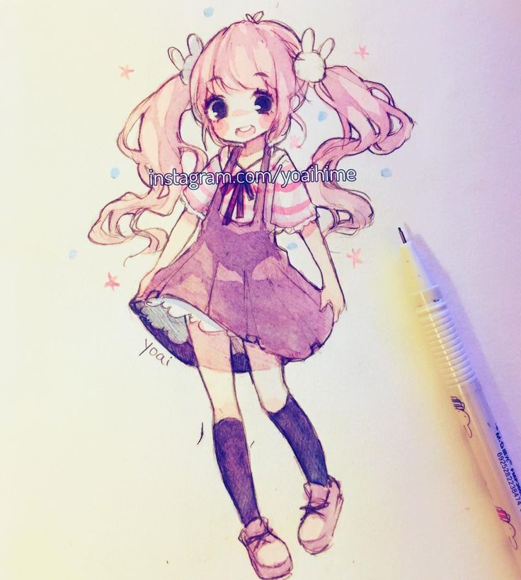 Happy weekend everyone~ I'll be sketching some stuff today though I really wish I had time to ink stuff and use copics (my black pens are still dead anyways •A•). I feel I have no consistency sometimes cause every few posts i draw eyes differently but I think it should vary depending on the nature of the illustration •3• - -#watercolor #sakurakoi #cansonpaper #sketchbook #sketch #kawaii #cute #moe