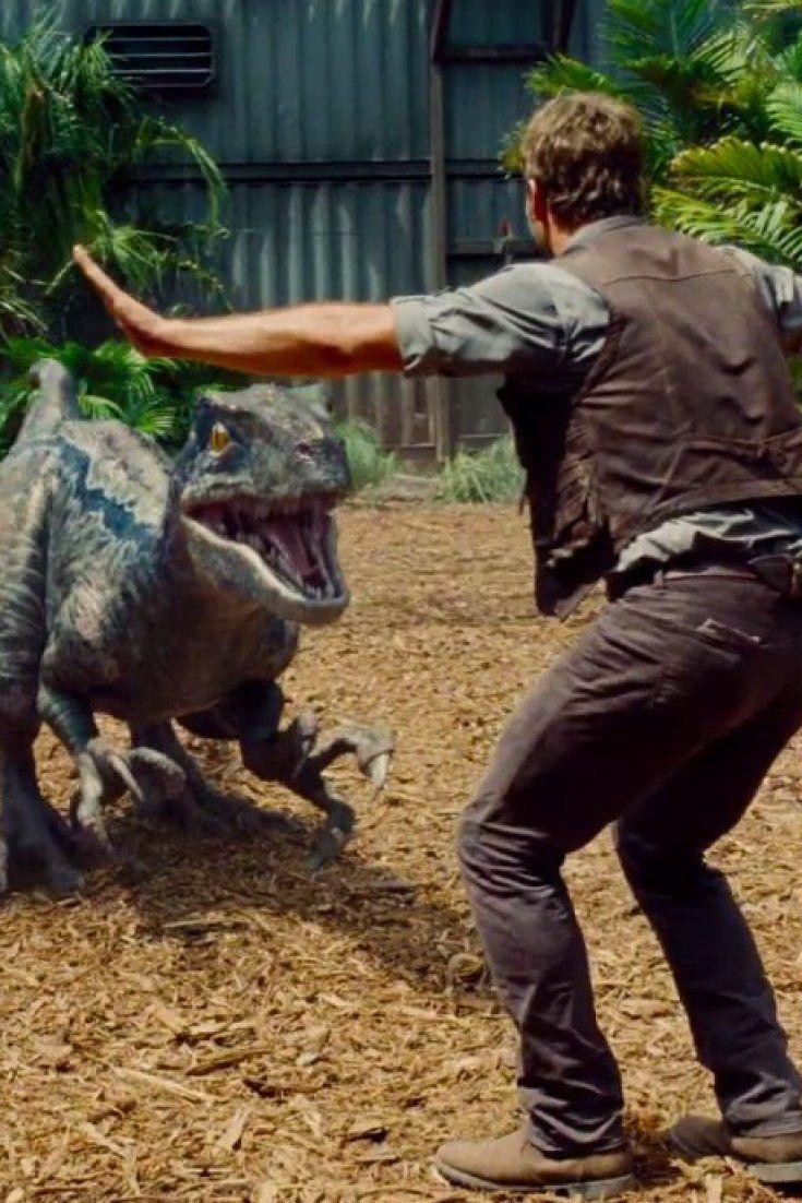 Chris Pratt Talks To Raptors In Terrifying New 'Jurassic World' Trailer