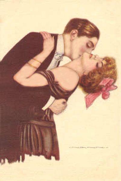 Love, Kisses, Couples, Romance postcard - Taringa!