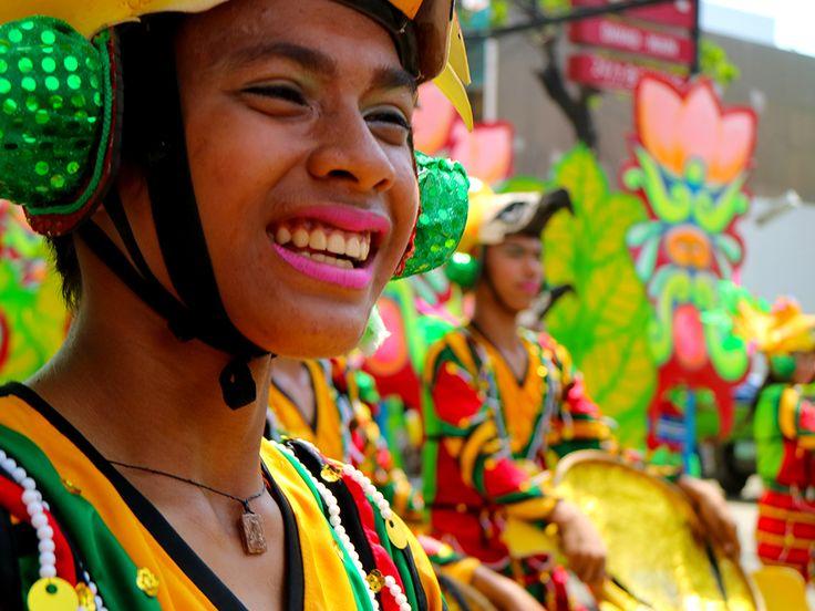 Smiles during the Kadayawan Festival.