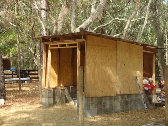 Home made wooden hay feeders goat hay rack