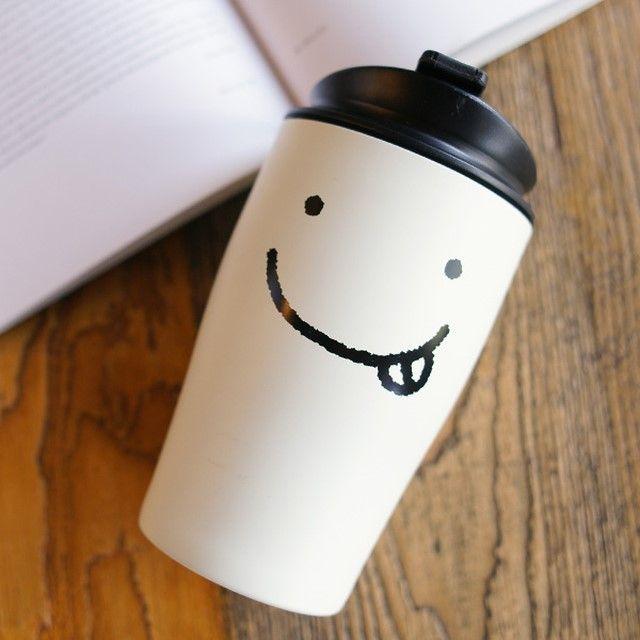 스마일 모던 스텐텀블러 320ml : 쓰임 #tumbler #smile
