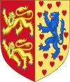 House of Welf (Guelf or Guelph) Coat of Arms of Brunswick-Lüneburg.svg  Country Germany, Italy, United Kingdom of Great Britain and Ireland  Ancestral house House of Este  Titles Duke of Bavaria, Duke of Saxony  Duke of Spoleto, Margrave of Tuscany  Count Palatine of the Rhine, King of the Romans, Holy Roman Emperor,  Duke of Brunswick-Lüneburg, Prince of Lüneburg, Prince of Brunswick-Wolfenbüttel, Elector of Hanover,  King of Hanover, Duke of Brunswick