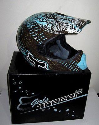 Fox Girls Motocross Helmet XS New Suit Teen Small Adult Female Motorcross   eBay
