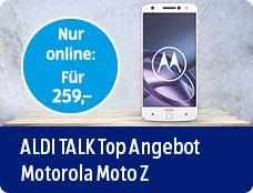 ALDI TALK Top Angebot Motrola Moto Z