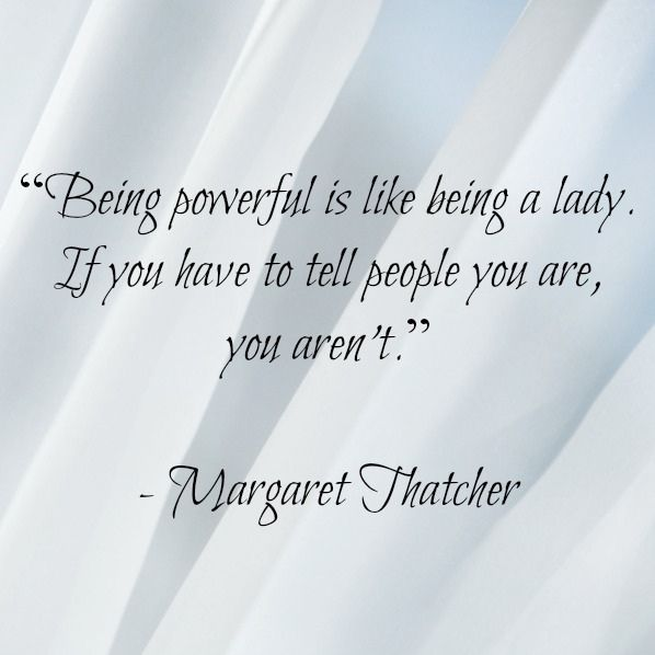 """Margaret Thatcher quote from """"10 Heroes for Girls"""""""