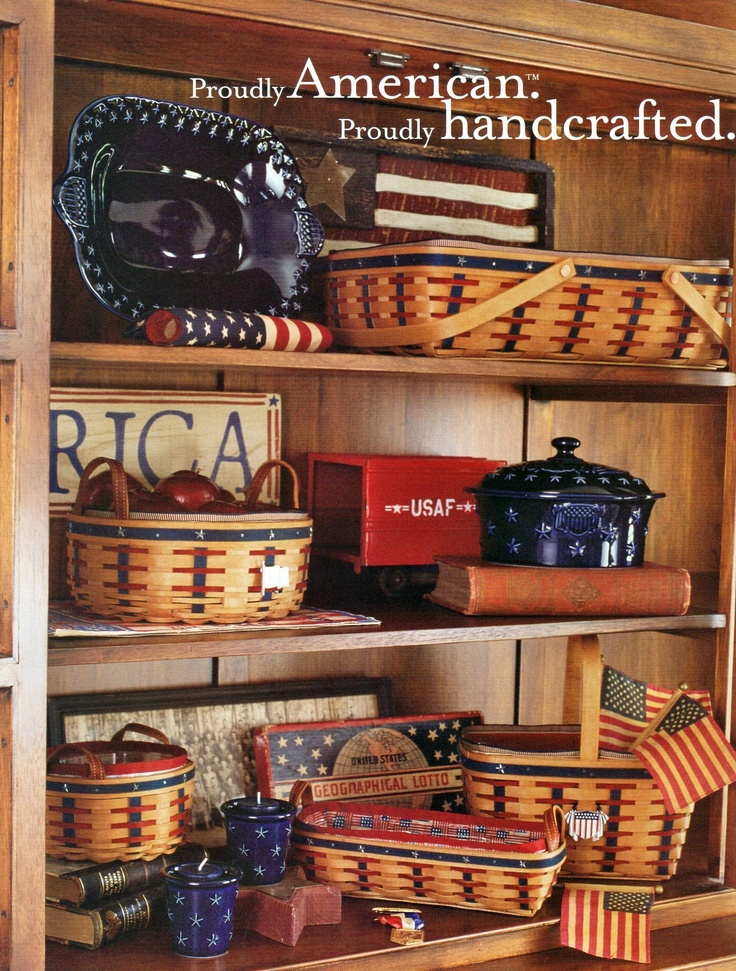 2003 Wish List catalog photo - Longaberger is proudly handcrafted & made in USA
