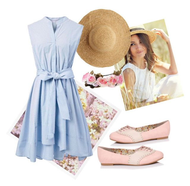 """untitled"" by frdnrmla on Polyvore featuring Flora Bella and Chicwish"