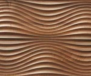 MDF Wall panel, made with a CNC router