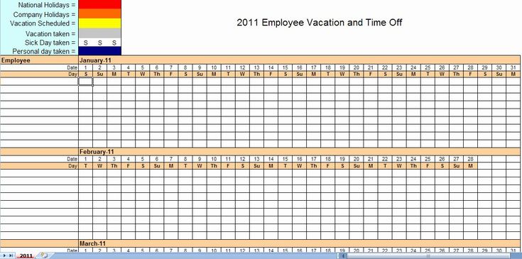 Employee Monthly Schedule Template Best Of Download Free ...