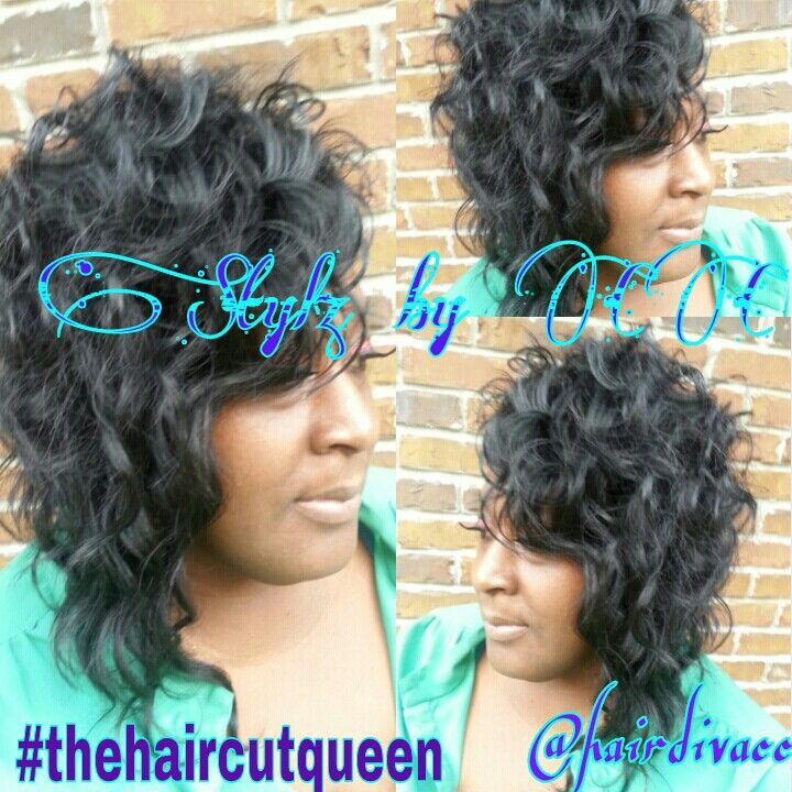 Quickweave | Quickweave Styles | Pinterest | Hair style, Quick weave and Curly hairstyles