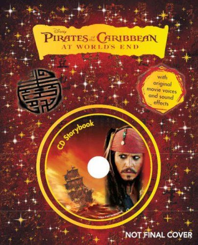 Disney  Pirates of the Caribbean: At Worlds End  Storybook (Book & CD) @ niftywarehouse.com #NiftyWarehouse #PiratesOfTheCarribbean #Pirates #Movies #Pirate