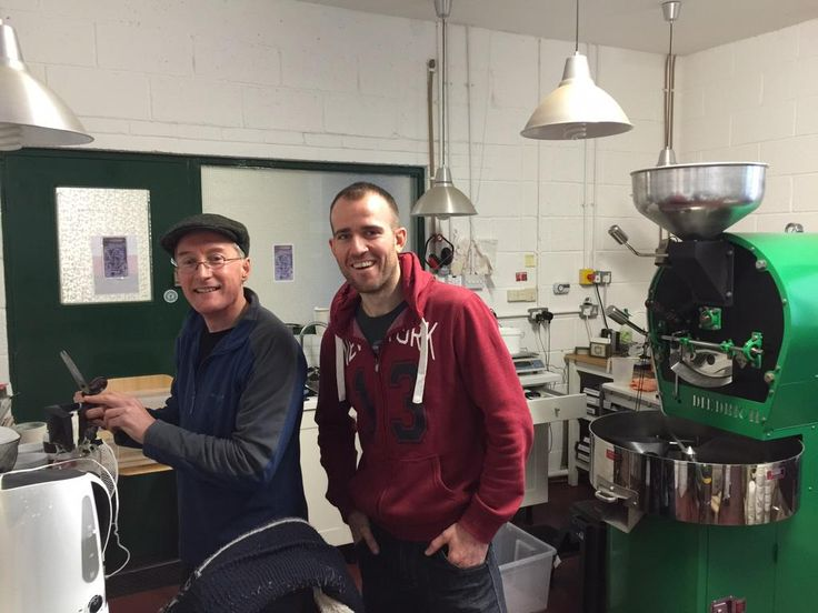 Thanks for the fantastic tour and wonderful coffee today @MojoRoastery - great set up, thanks Kev!