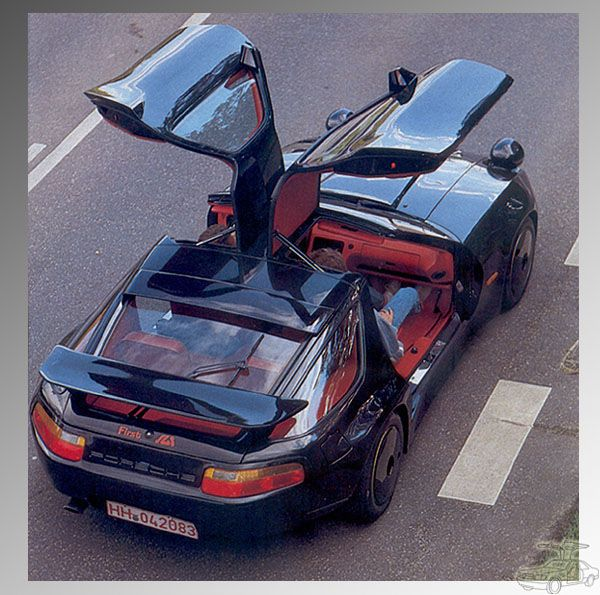 Porsche 928 With GULL WINGS!!!
