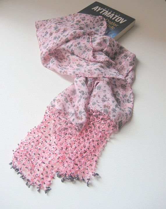 Traditional Turkish Oya Scarf-Shawl ..