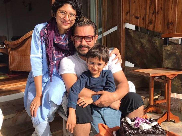 Aamir Khan and Azad ring in Kiran Rao's birthday in Meghalaya