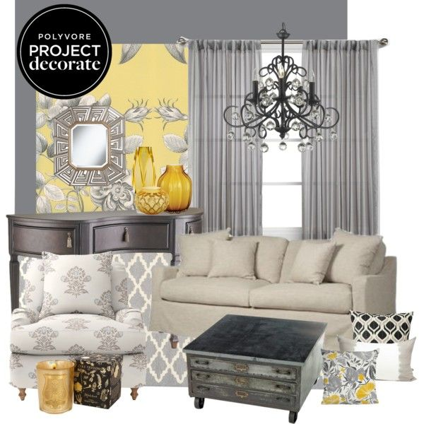 60 best Bedroom Color Ideas, Gray and Yellow images on Pinterest