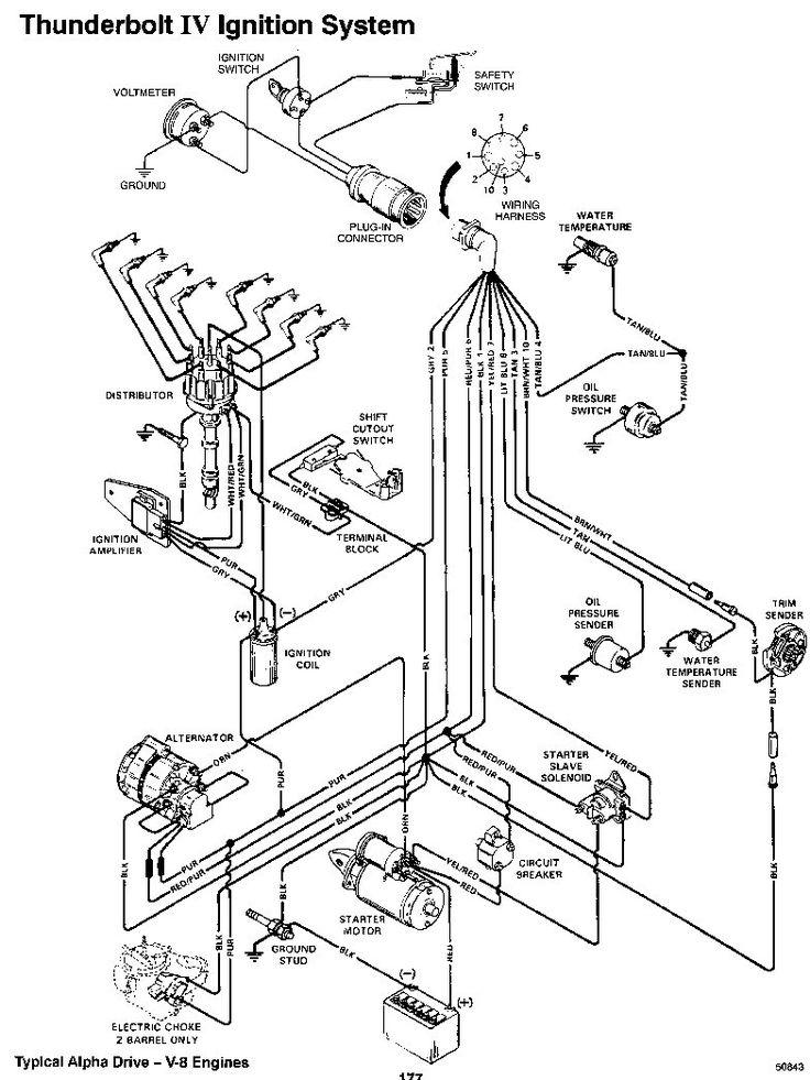 Elegant Mercruiser Thunderbolt Iv Ignition Wiring Diagram
