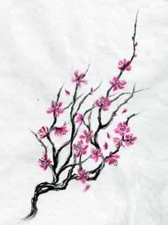 Japanese Cherry Blossom Tattoo Idea