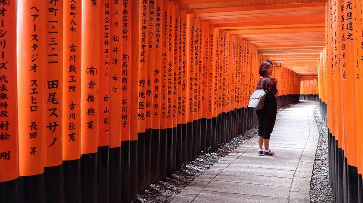 Fushimi Inari Taisha , Kyoto #japan #fushimiinari #kyoto #summer #shrine