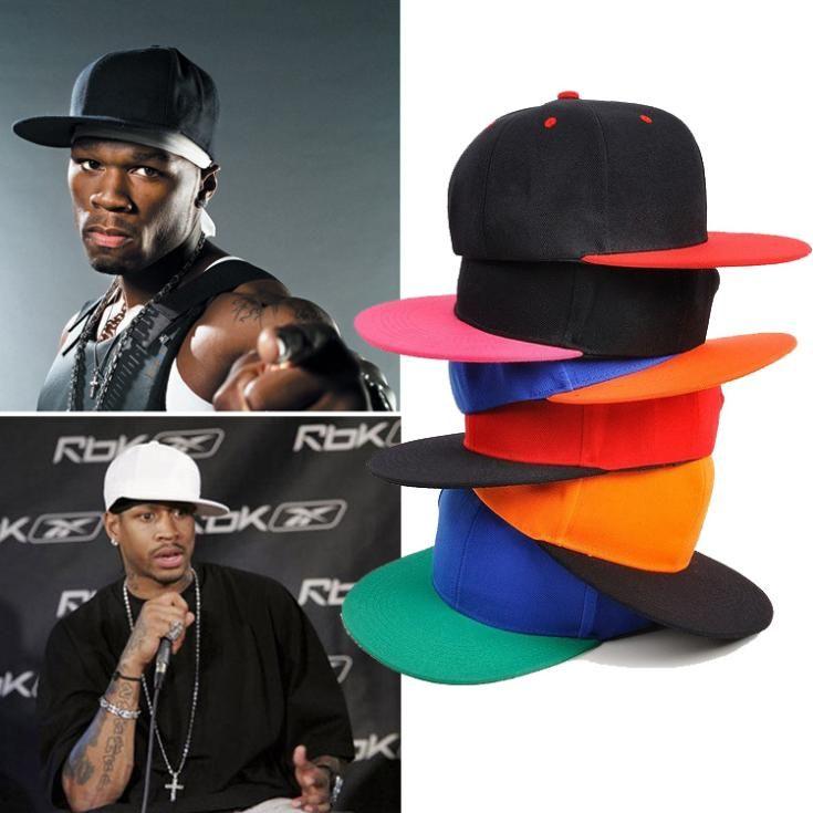 >> Click to Buy << Adjustable Fashion Flat Bill Hip Hop B-boy B-girl Snapback Baseball Cap Hat Trucker Golf Hat #Affiliate