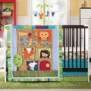 Kids Line Little Tree House Crib Bedding Collection