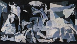 """""""Guernica"""", Pablo Picasso. Any 1937."""