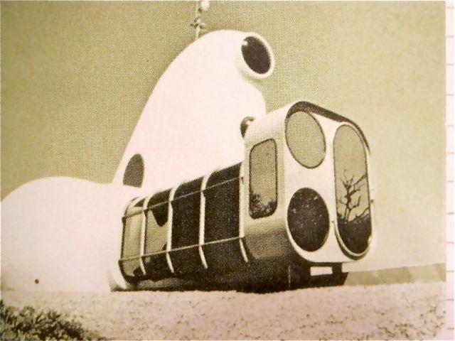 JHALAL DRUT: ant farm house of the century 1972