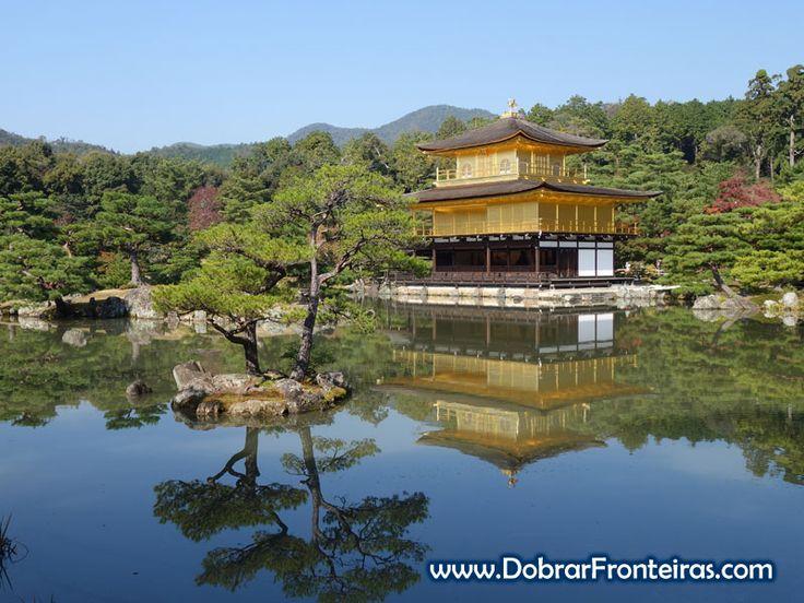 Kinkanku-ji, o templo dourado em Quioto