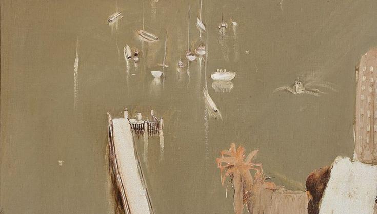 brett whiteley lavender bay in the rain