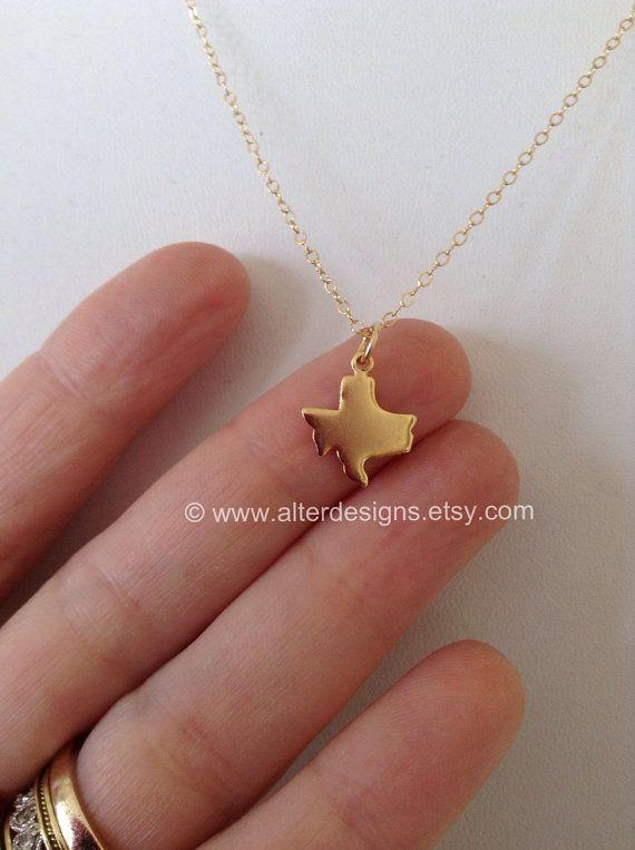 Best 25 texas necklace ideas on pinterest texas jewelry texas texas state necklace gold texas necklace or silver texas state necklace state of texas aloadofball Images