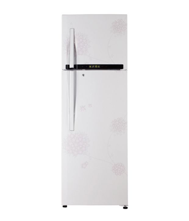 LG FF #Refrigerator 335L GL-349PEX5 Bouquet White at offer price on #LotusElectronics