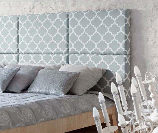 meble - łóżka-Zagłówek modułowy made for bed koniczyna marok.