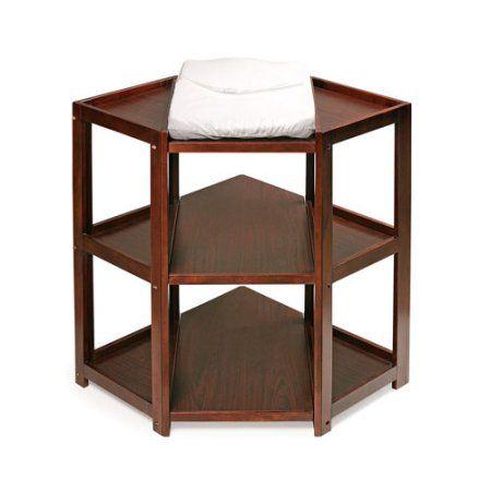 Free Shipping. Buy Badger Basket Diaper Corner Changing Table, Cherry at Walmart.com