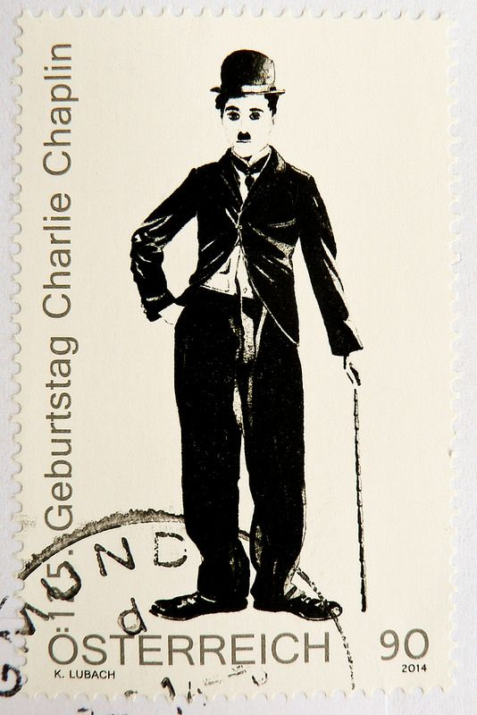 great stamp Austria 90c (portrait Charlie Chaplin, 125th anniversary of birthday) postage timbre Autriche selo sello francobollo Austria почтовые марки Австрия postzegel Oostenrijk طوابع النمسا frimærker østrig markica Austrija टिकटों ऑस्ट्रिया marka | Flickr - Photo Sharing!