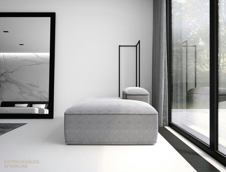 extravagauza interiors contemporary minimalist bedroom interior design wwwextravagauza - Contemporary Minimalist Interior Design