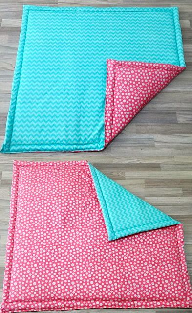 Loving this colour combo for Taylah's reversible floor mat. Can't wait to finish her play tent for it to go in!
