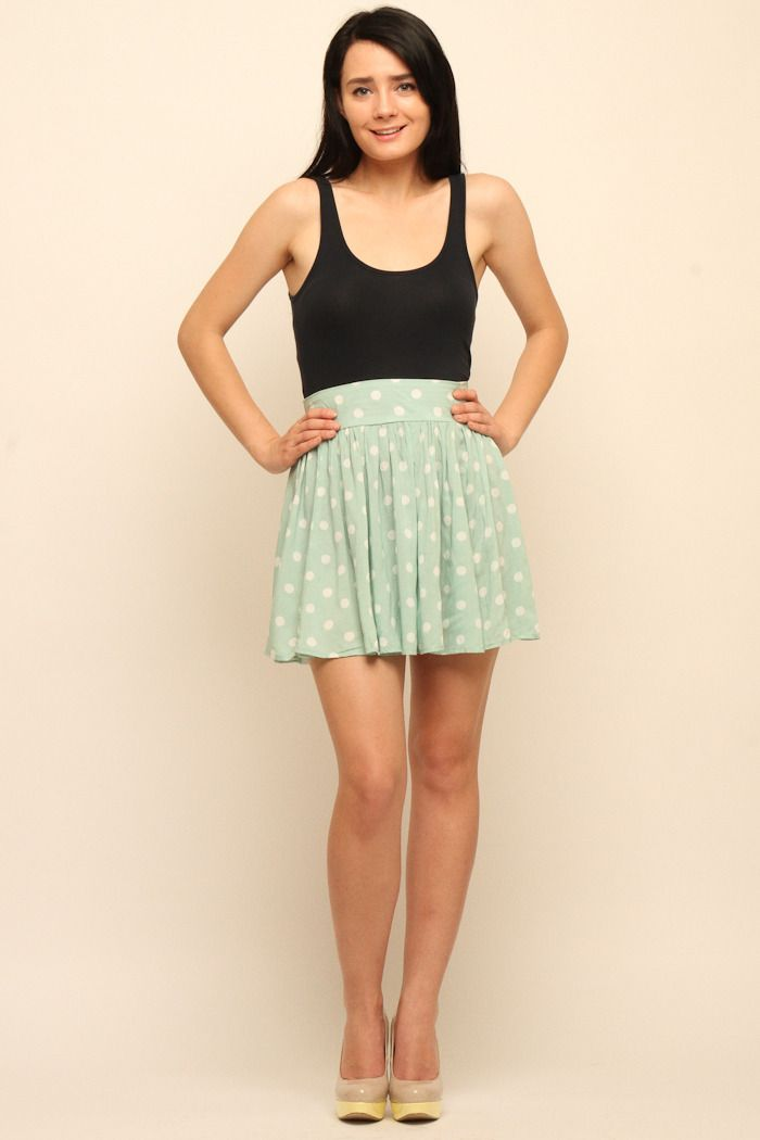 Peppermint Pattie SkirtHigh Waist Skirts, Buildings Outfit, Skirts ...