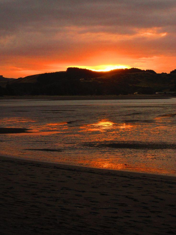 A Beautiful Raglan Sunset