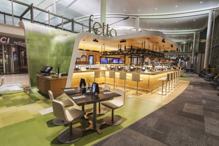 Fetta | Turnkey Restaurant // a unique concept for a new airport dining experience; redefining what it means to travel in comfort and style // Hospitality Engineered Fabricated Wood Steel