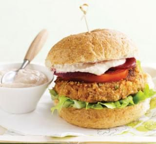 Bean vegie burgers | Australian Healthy Food Guide