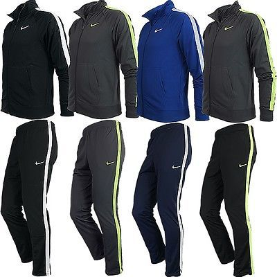 Track Suits 59339: Nike Season Poly Knit Mens Track Suit Sports Suit Jogging Suit New -> BUY IT NOW ONLY: $89.89 on eBay!