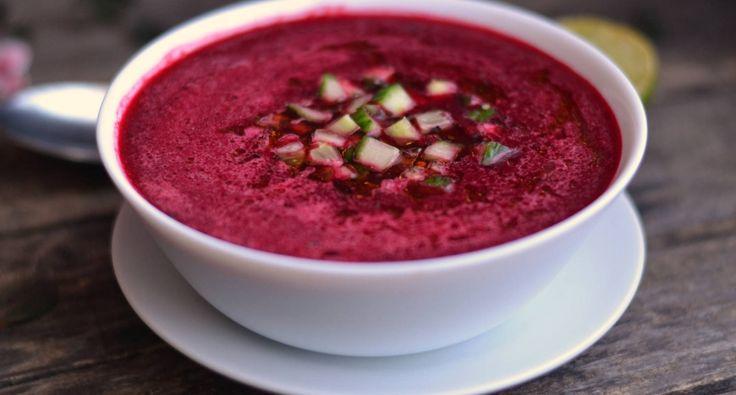 Céklagazpacho recept | APRÓSÉF.HU - receptek képekkel