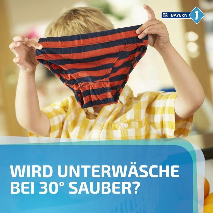 Unterwäsche Waschen Grad